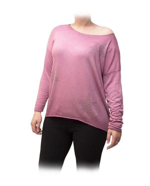 blusa rosa estrellas portada