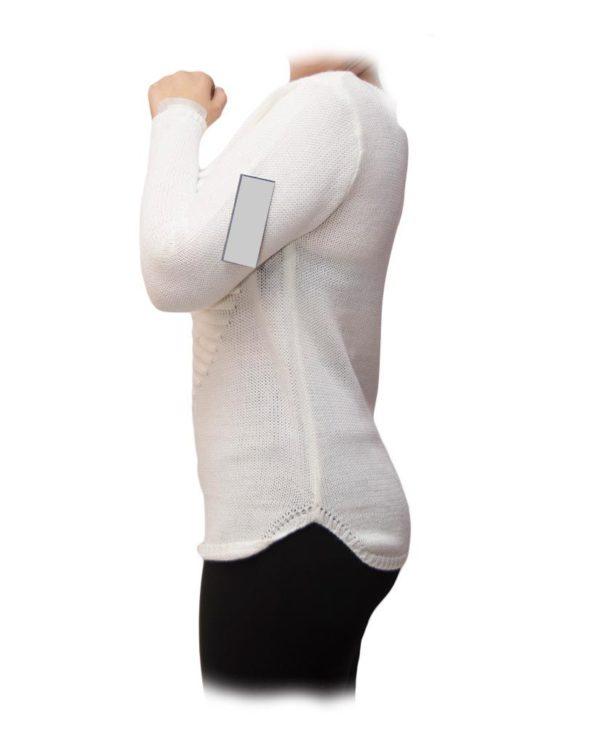 jersey corazón blanco perfil
