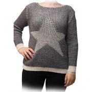 jersey gris estrella blanca