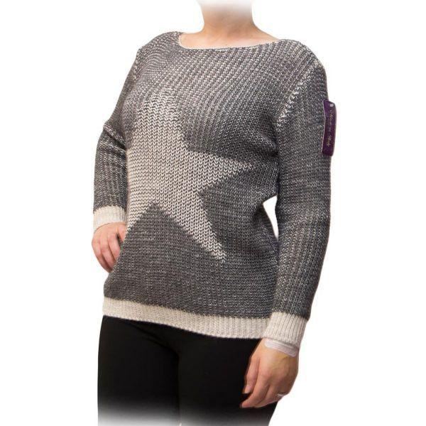 jersey gris estrella blanca lado