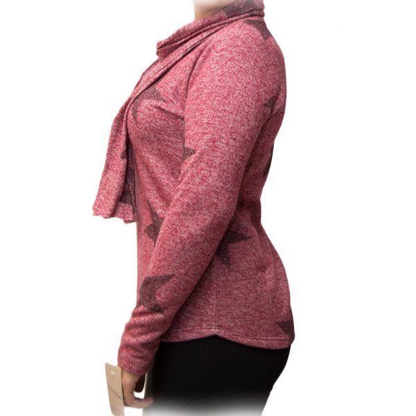 jersey rosa pañuelo estrellas perfil